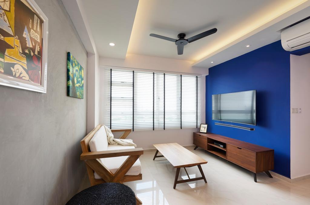 Scandinavian, HDB, Living Room, Circuit Road, Interior Designer, Willis Design, Dining Table, Furniture, Table, Chair, Indoors, Room