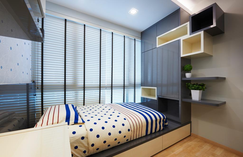 Contemporary, Condo, Bedroom, Ripple Bay, Interior Designer, Willis Design, Oars