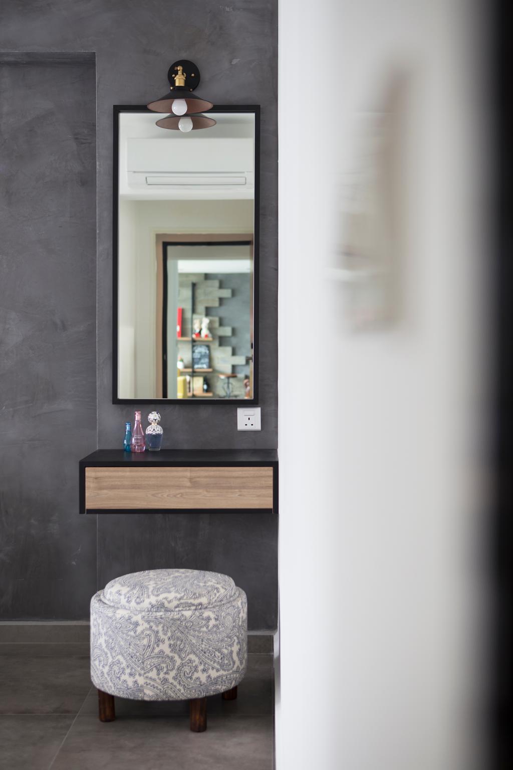 Industrial, HDB, Bedroom, Yishun Street 51, Interior Designer, Versaform