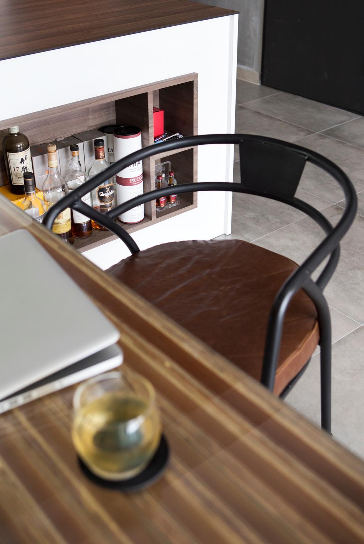 Industrial, HDB, Dining Room, Yishun Street 51, Interior Designer, Versaform, Chair, Furniture