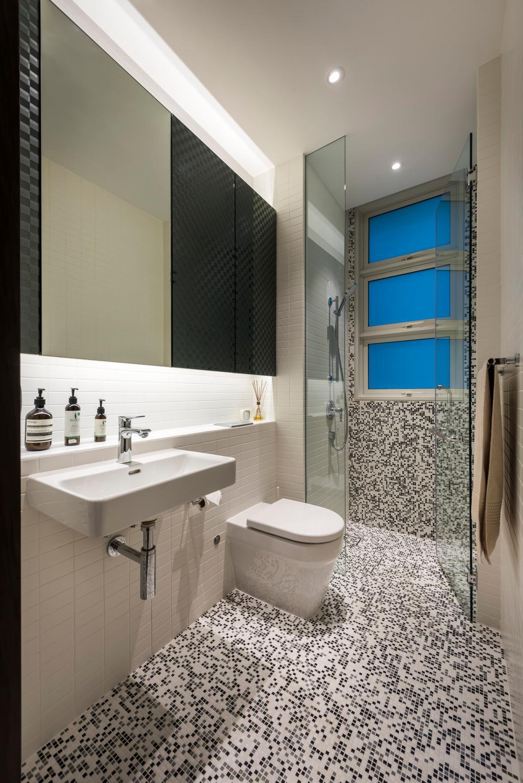 Contemporary, Condo, Bathroom, Lloyd Road, Interior Designer, akiHAUS, Indoors, Interior Design, Room