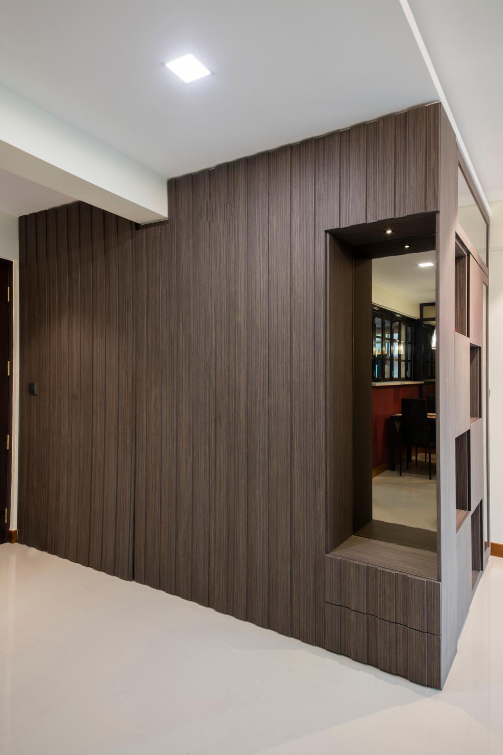 Traditional, HDB, Living Room, Punggol Way (Block 315A), Interior Designer, Tan Studio, Flooring