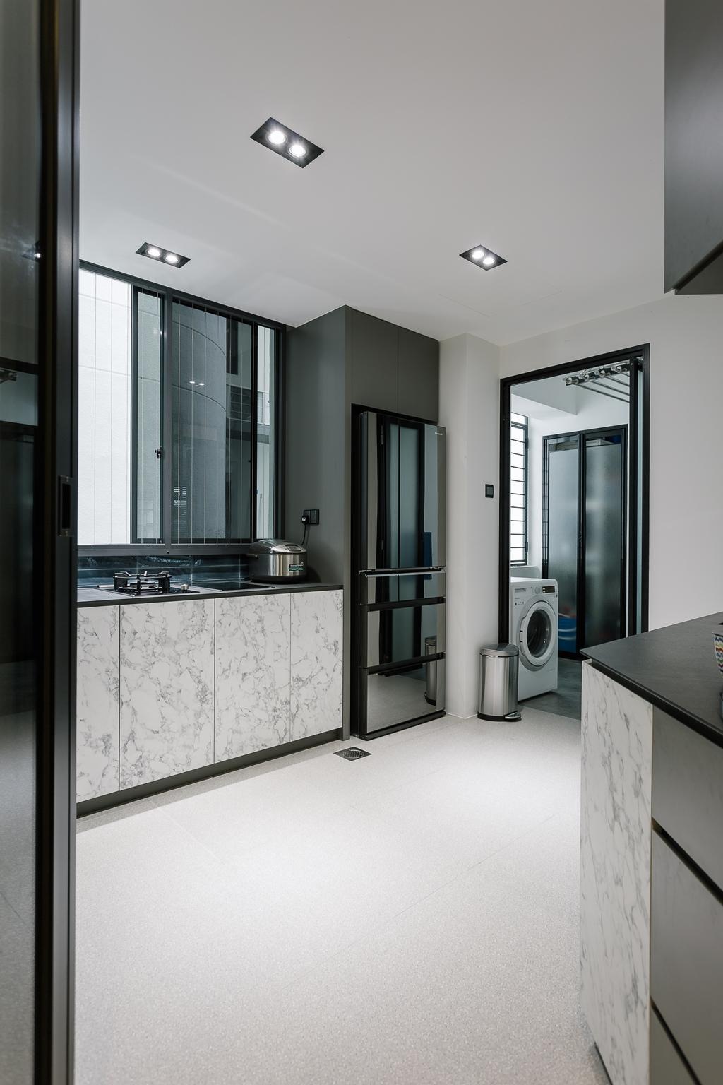 Contemporary, Condo, Kitchen, Glendale Park, Interior Designer, Habit, Bathroom, Indoors, Interior Design, Room
