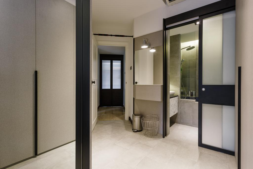 Contemporary, Condo, Bedroom, Glendale Park, Interior Designer, Habit, Door, Sliding Door