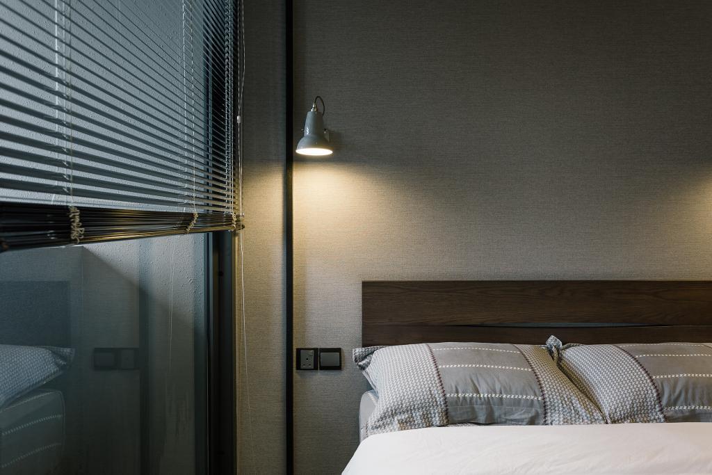 Contemporary, Condo, Bedroom, OUE Twin Peak, Interior Designer, Habit