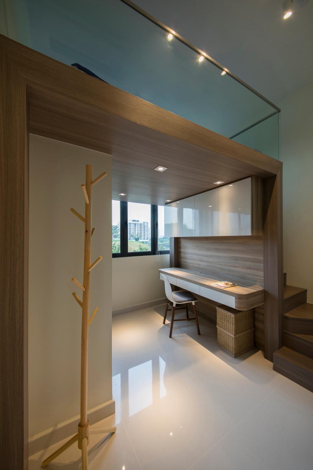 Condominium Study Room: Interior Design Singapore