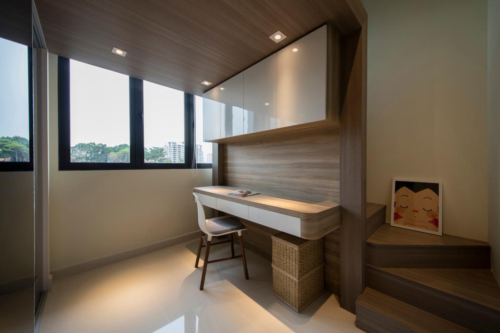 Minimalistic, Condo, Study, Urban Vista, Interior Designer, Aart Boxx Interior, Dining Table, Furniture, Table