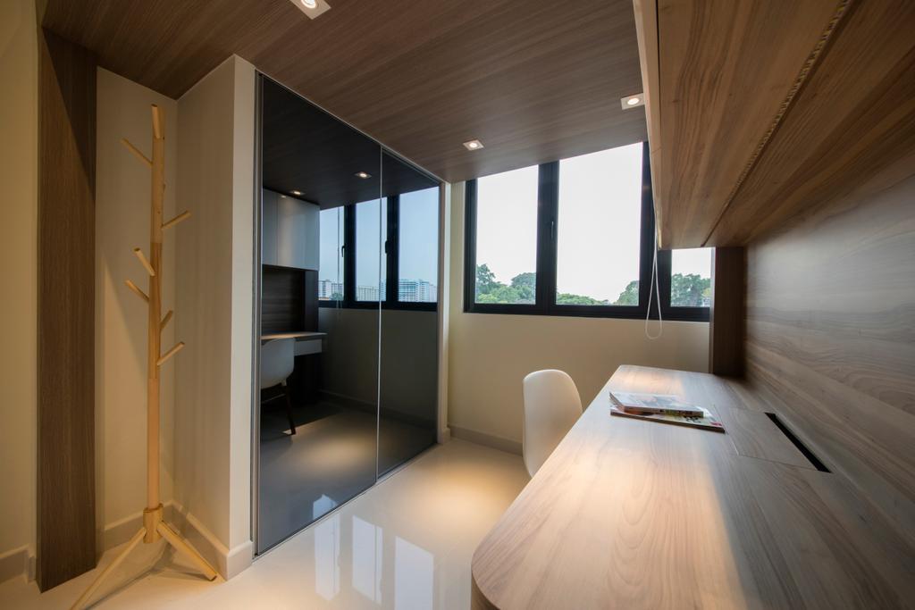 Minimalistic, Condo, Study, Urban Vista, Interior Designer, Aart Boxx Interior, Indoors, Interior Design