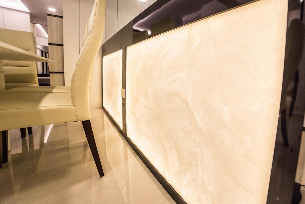 Modern, HDB, Dining Room, Yishun Street 51 (Block 502D), Interior Designer, MET Interior, Chair, Furniture