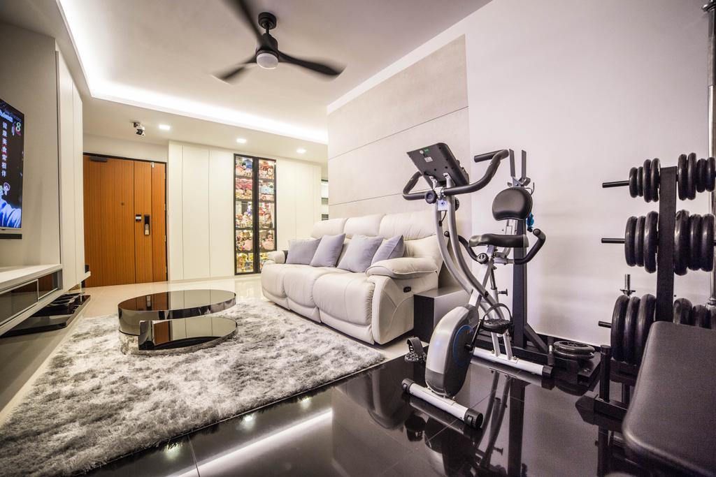 Modern, HDB, Living Room, Yishun Street 51 (Block 502D), Interior Designer, MET Interior, Chair, Furniture, Indoors, Interior Design, Couch