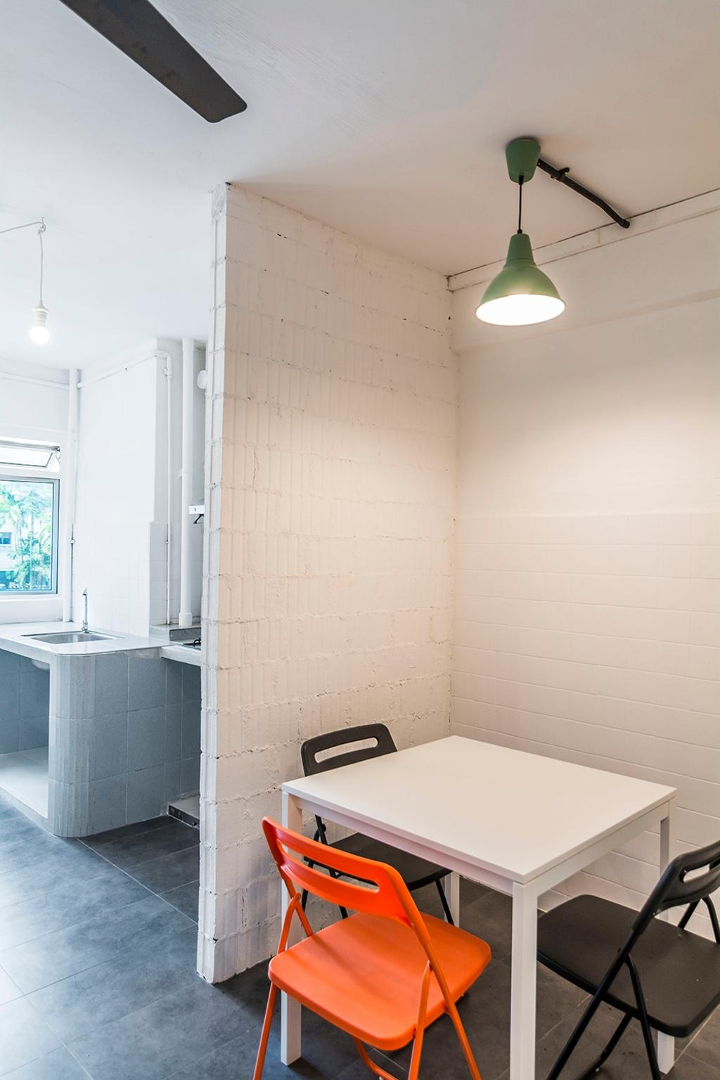 Shophouse - Office + Residence, Commercial, Architect, OWMF Architecture, Industrial, Bathroom, Indoors, Interior Design, Room