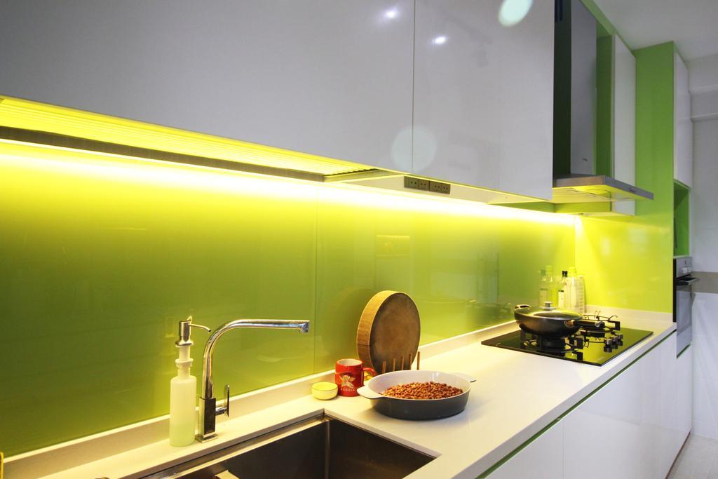 Contemporary, HDB, Kitchen, Yishun Avenue 1 (Block 432B), Interior Designer, ChanInteriors, Tap