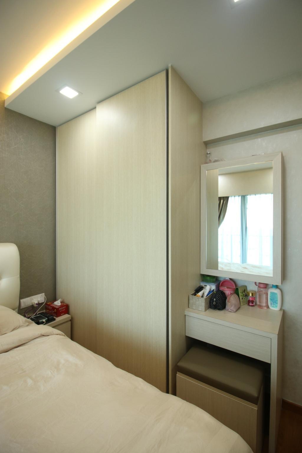 Modern, HDB, Bedroom, Tampines Central 8, Interior Designer, ChanInteriors