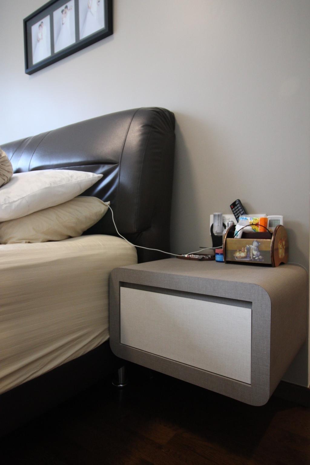 Contemporary, Condo, Bedroom, Arc @ Tampines, Interior Designer, ChanInteriors, Couch, Furniture