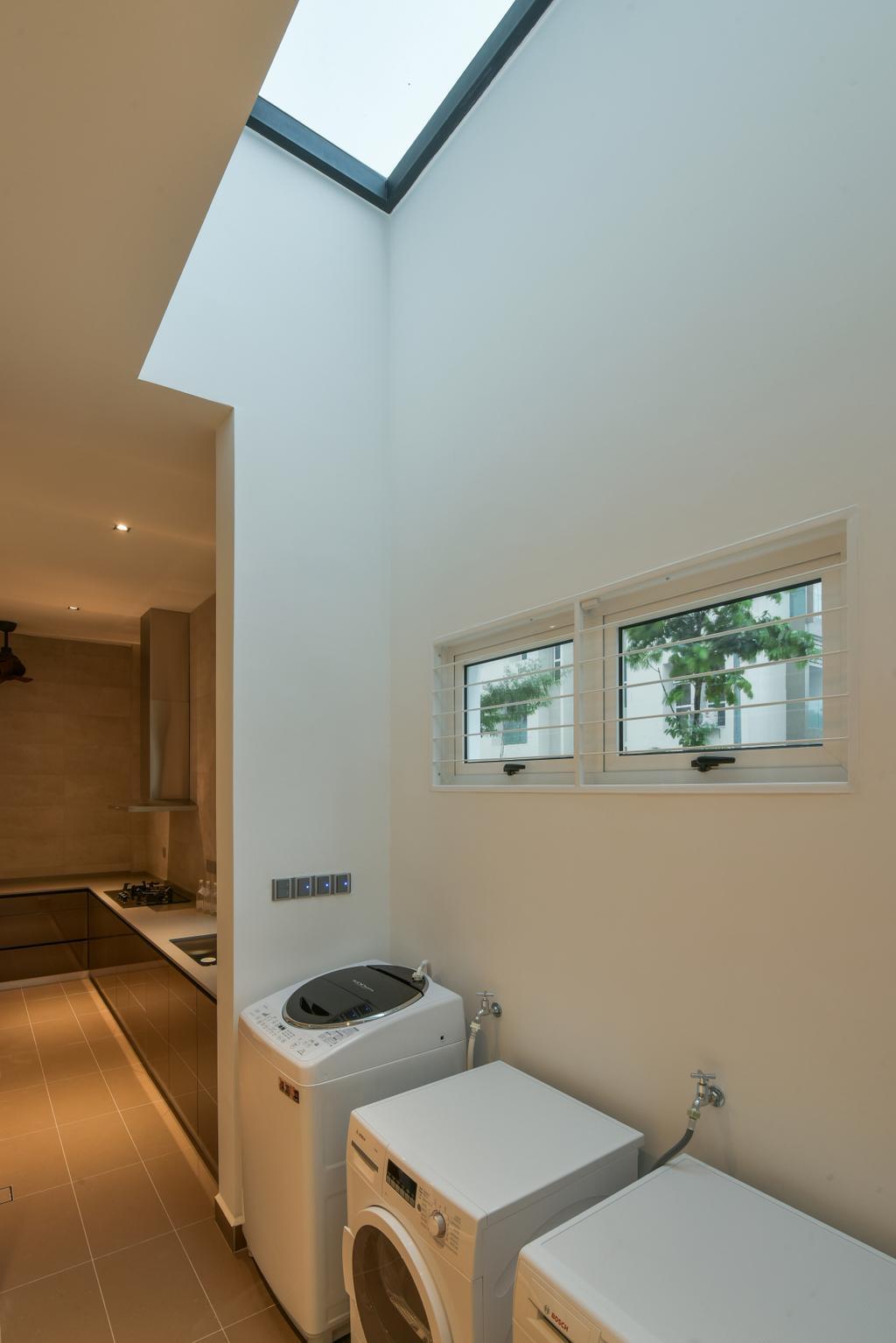 Minimalistic, Landed, Temasya, Glenmarie, Interior Designer, Surface R Sdn. Bhd., Contemporary, Modern, Window, Apartment, Building, Housing, Indoors