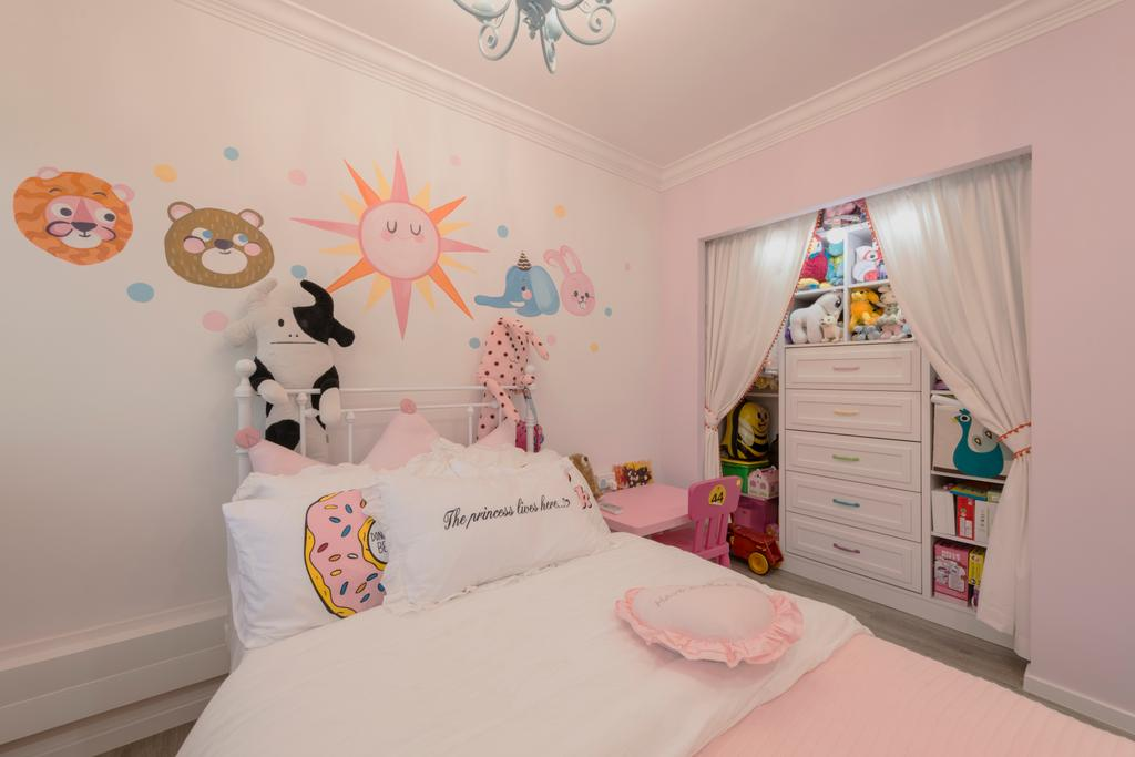 Scandinavian, HDB, Bedroom, Yishun Ring Road, Interior Designer, Project Guru, Indoors, Interior Design, Room