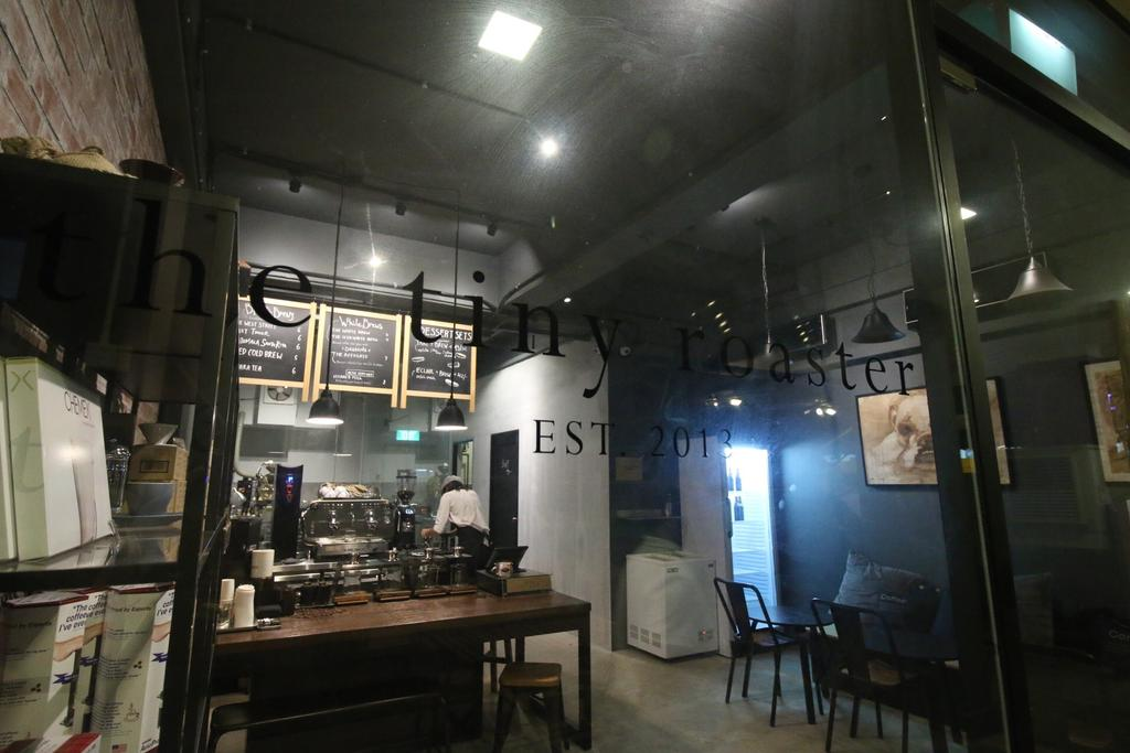 The Tiny Roaster, Commercial, Interior Designer, ChanInteriors, Industrial, Cafe, Restaurant, HDB, Building, Housing, Indoors, Loft, Dining Table, Furniture, Table