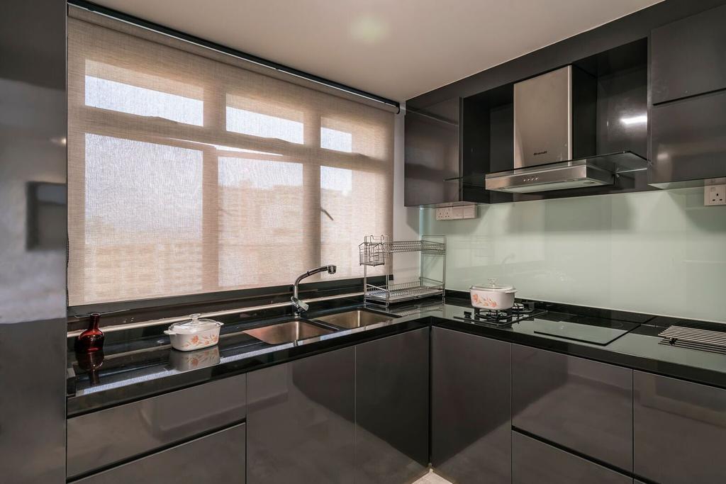 Modern, HDB, Kitchen, Toa Payoh Lorong 1, Interior Designer, Starry Homestead, Sink, Indoors, Interior Design, Room