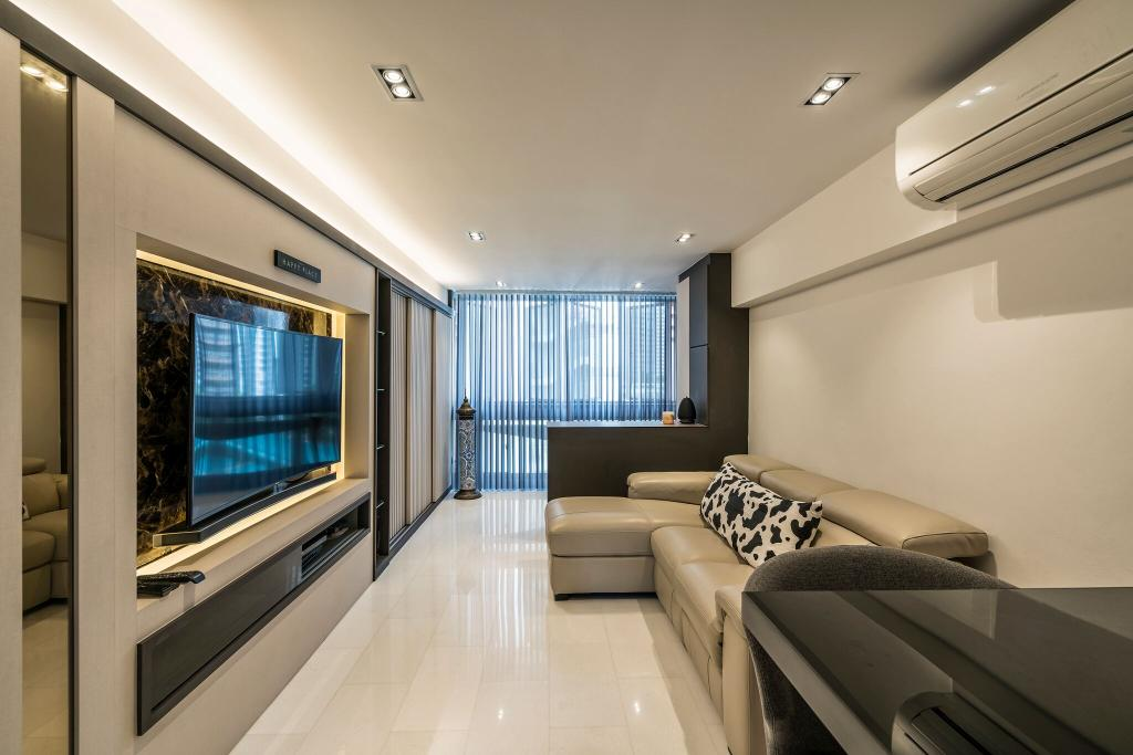 Modern, HDB, Living Room, Toa Payoh Lorong 1, Interior Designer, Starry Homestead, Indoors, Interior Design, Couch, Furniture, Room