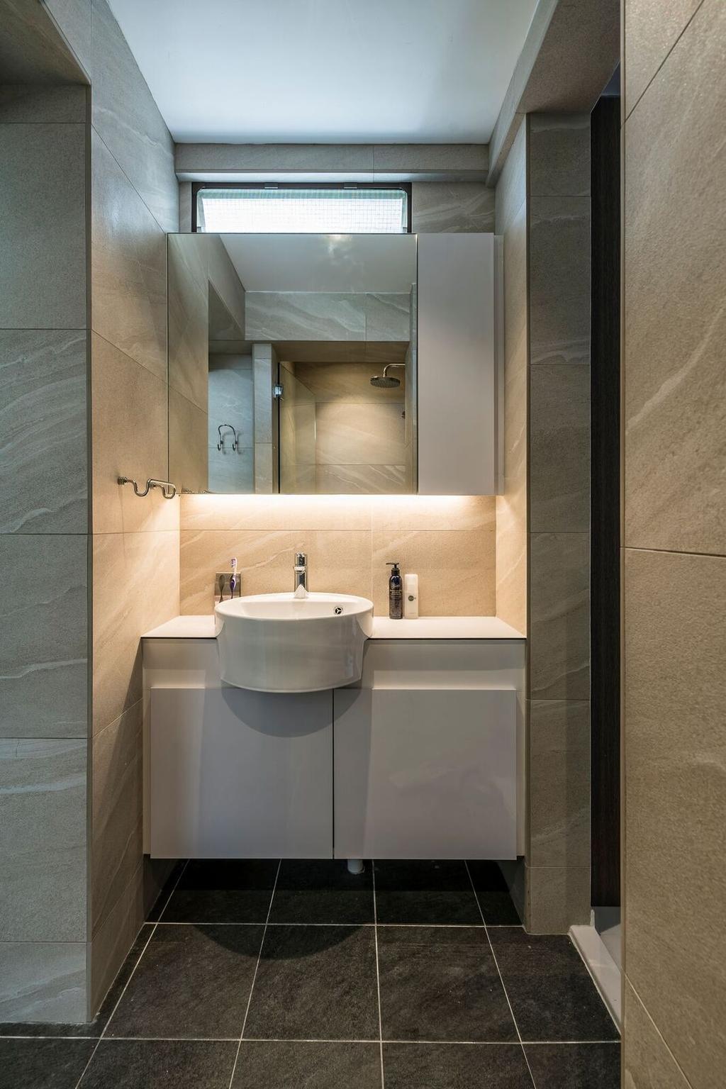 Modern, HDB, Bathroom, Toa Payoh Lorong 1, Interior Designer, Starry Homestead, Sink, Indoors, Interior Design, Room