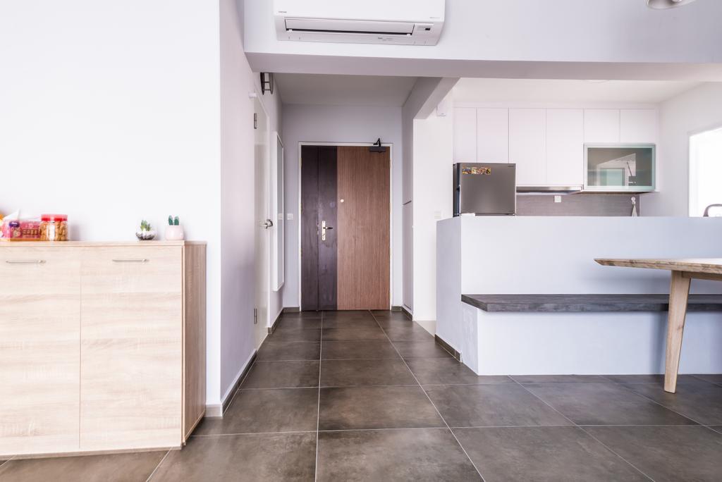 Minimalistic, HDB, Living Room, McNair, Interior Designer, The Local INN.terior 新家室