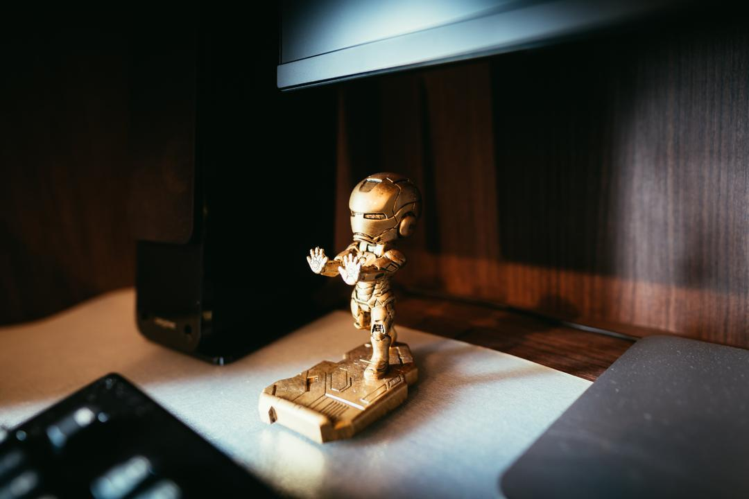 McNair, The Local INN.terior 新家室, Minimalist, Study, HDB, Figurine