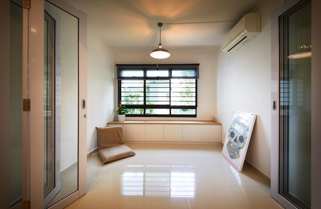 Modern, HDB, Study, Senja Road (Block 606), Interior Designer, The Local INN.terior 新家室, Indoors, Interior Design