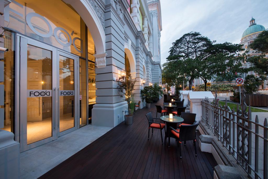 FOOD, Commercial, Interior Designer, Hue Concept Interior Design, Contemporary, Balcony, Bench, Cafe, Restaurant