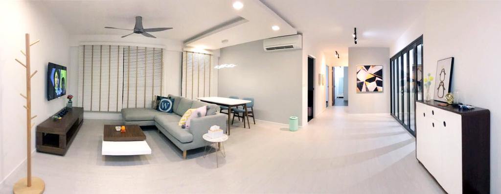 Modern, HDB, Keat Hong Axis (Block 809A), Interior Designer, DB Studio, Dining Table, Furniture, Table