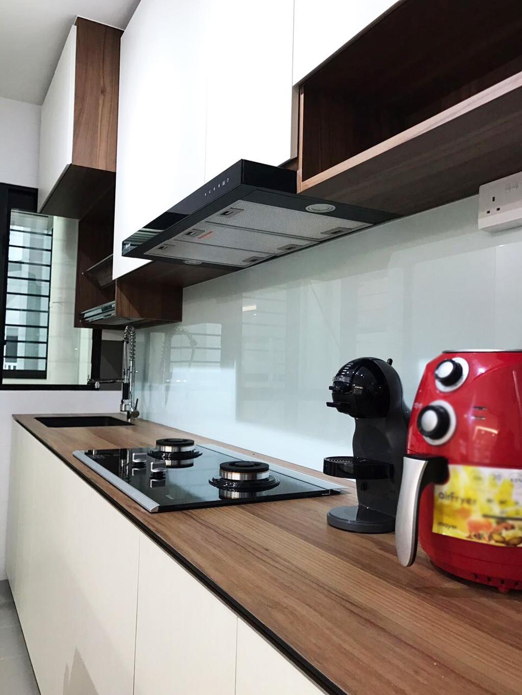 Modern, HDB, Kitchen, Keat Hong Axis (Block 809A), Interior Designer, DB Studio