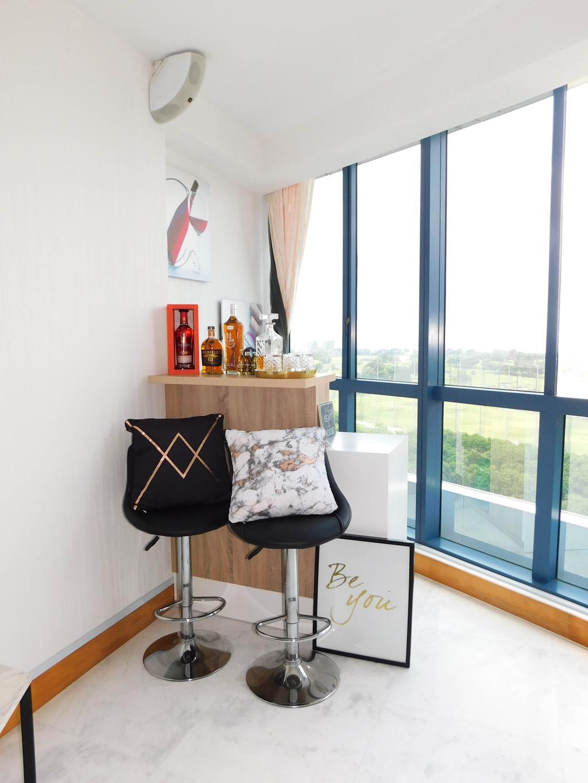 Minimalistic, Condo, Dining Room, Water Place, Interior Designer, DB Studio, Window, Chair, Furniture