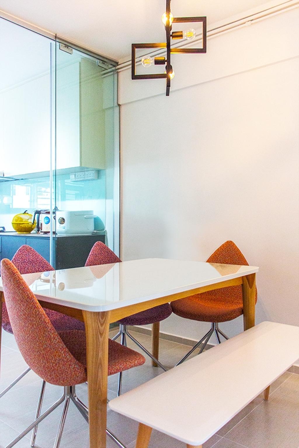 Minimalistic, HDB, Dining Room, Ang Mo Kio Avenue 3 (Block 562), Interior Designer, DB Studio