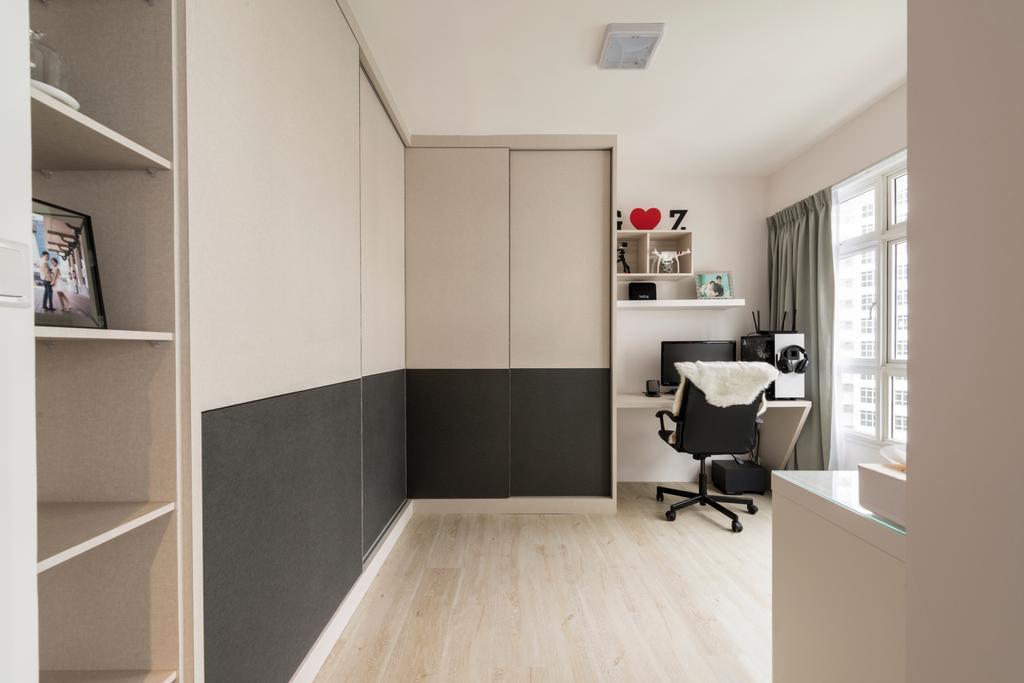 Scandinavian, HDB, Study, Compassvale Crescent (Block 288B), Interior Designer, Colourbox Interior