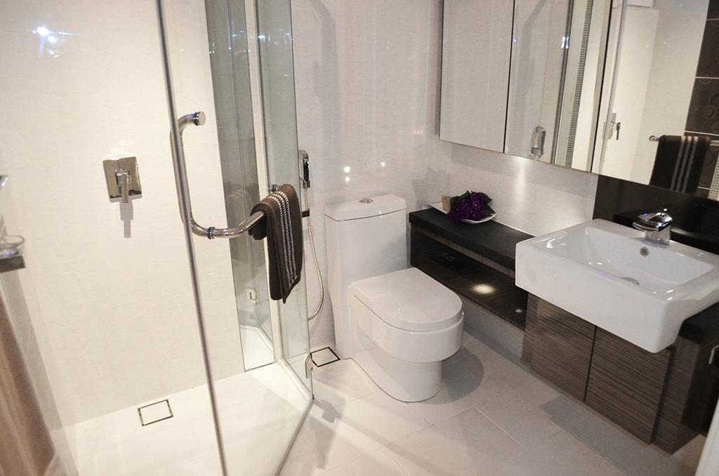 Modern, Condo, Bathroom, Zenith Residences, Interior Designer, The Arch, Indoors, Interior Design, Room