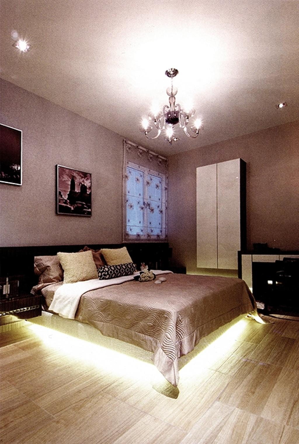 Modern, Condo, Bedroom, Zenith Residences, Interior Designer, The Arch, Indoors, Interior Design, Room