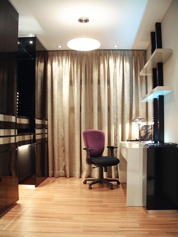 Modern, Condo, Study, Saville Residences, Interior Designer, The Arch, Chair, Furniture
