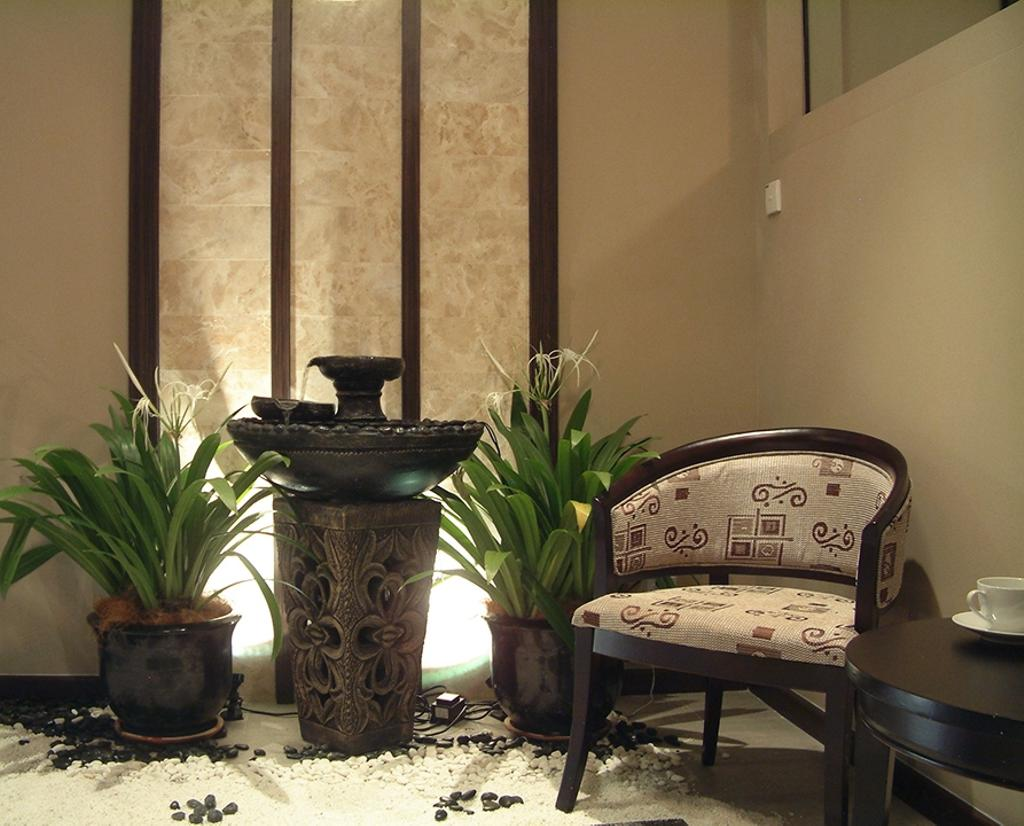 Modern, Condo, Saville Residences, Interior Designer, The Arch, Flora, Jar, Plant, Potted Plant, Pottery, Vase, Chair, Furniture, Pot