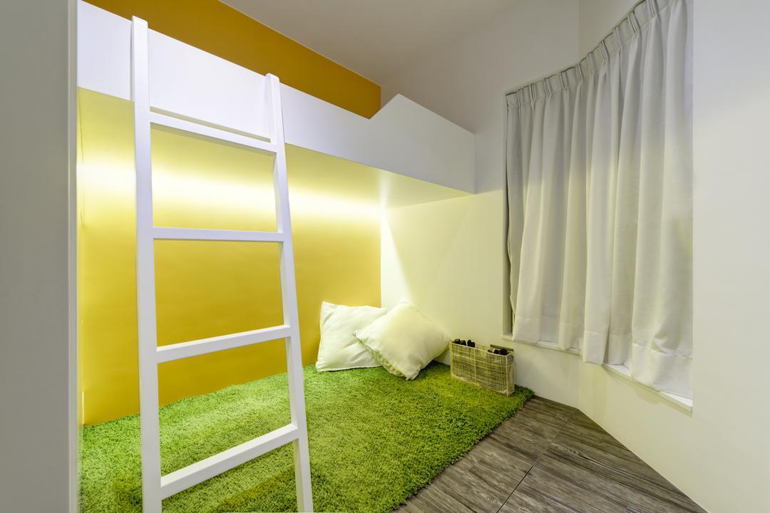 碧堤半島, in Him's Interior Design, 摩登, 睡房, 私家樓, Indoors, Interior Design, Room, Cushion, Home Decor, Pillow