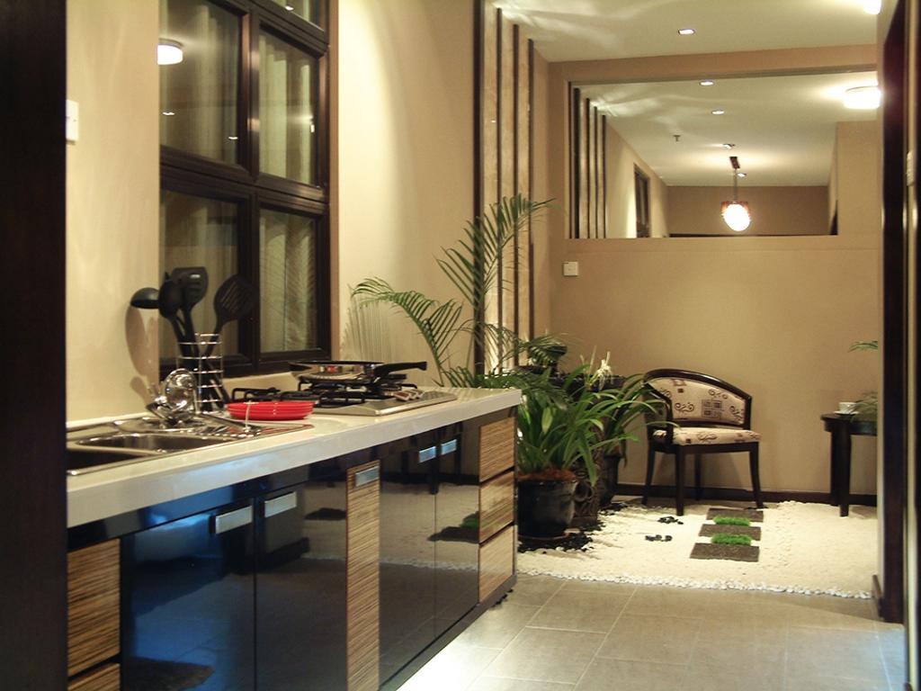 Modern, Condo, Kitchen, Saville Residences, Interior Designer, The Arch, Flora, Jar, Plant, Potted Plant, Pottery, Vase, Dining Room, Indoors, Interior Design, Room, Lighting