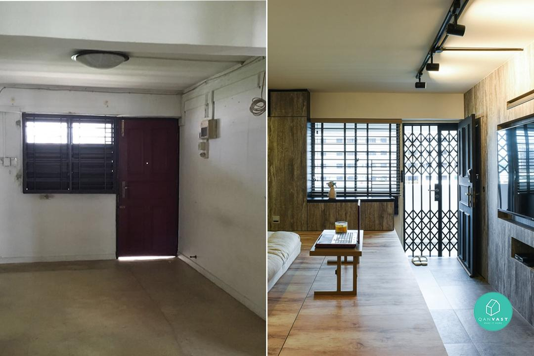 Before and After: 6 Extreme HDB Makeovers 1