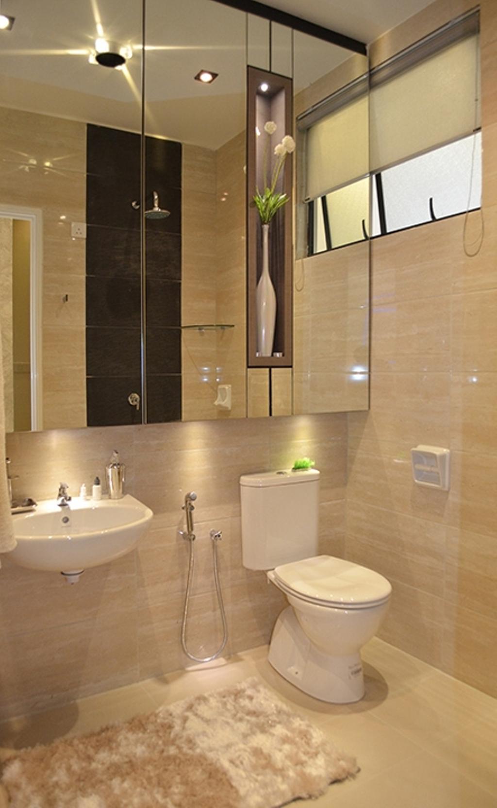 Modern, Condo, Bathroom, Fortune Perdana Lakeside Residences, Interior Designer, The Arch, Indoors, Interior Design, Room, Toilet