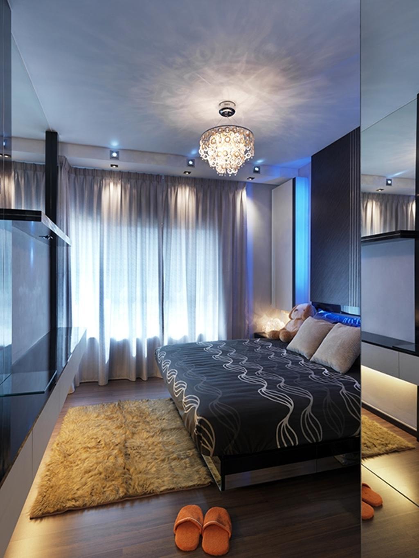 Modern, Condo, Bedroom, Changkat View Condominium, Interior Designer, The Arch, Bed, Furniture