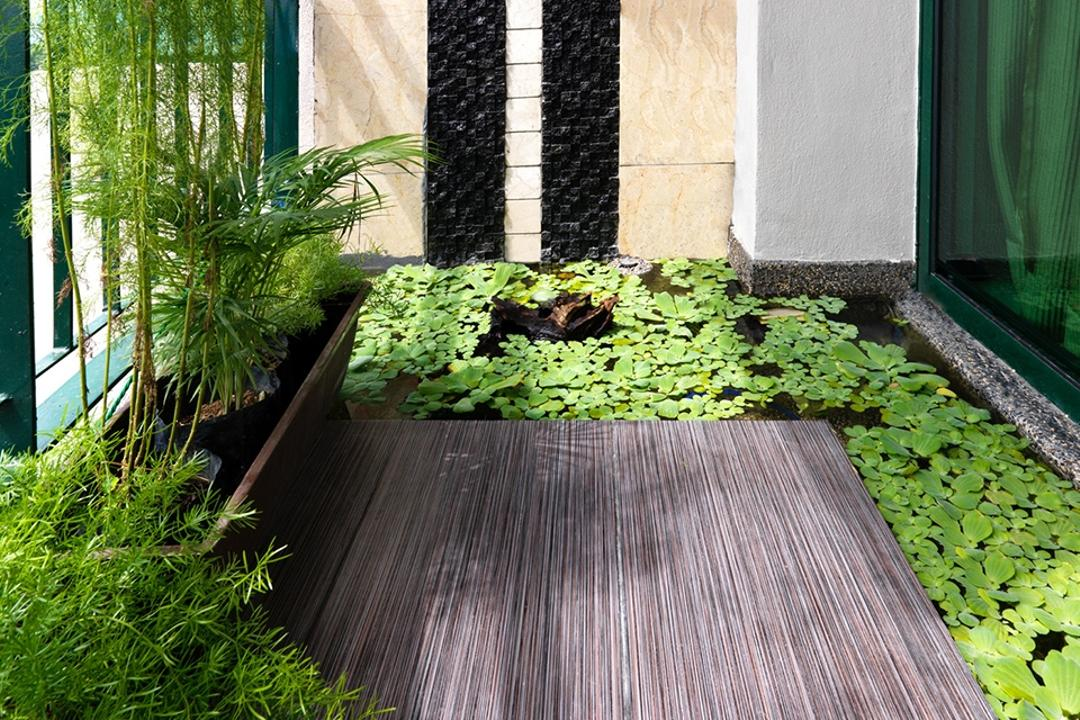 Changkat View Condominium, The Arch, Modern, Condo, Flora, Herbs, Jar, Plant, Planter, Potted Plant, Pottery, Vase