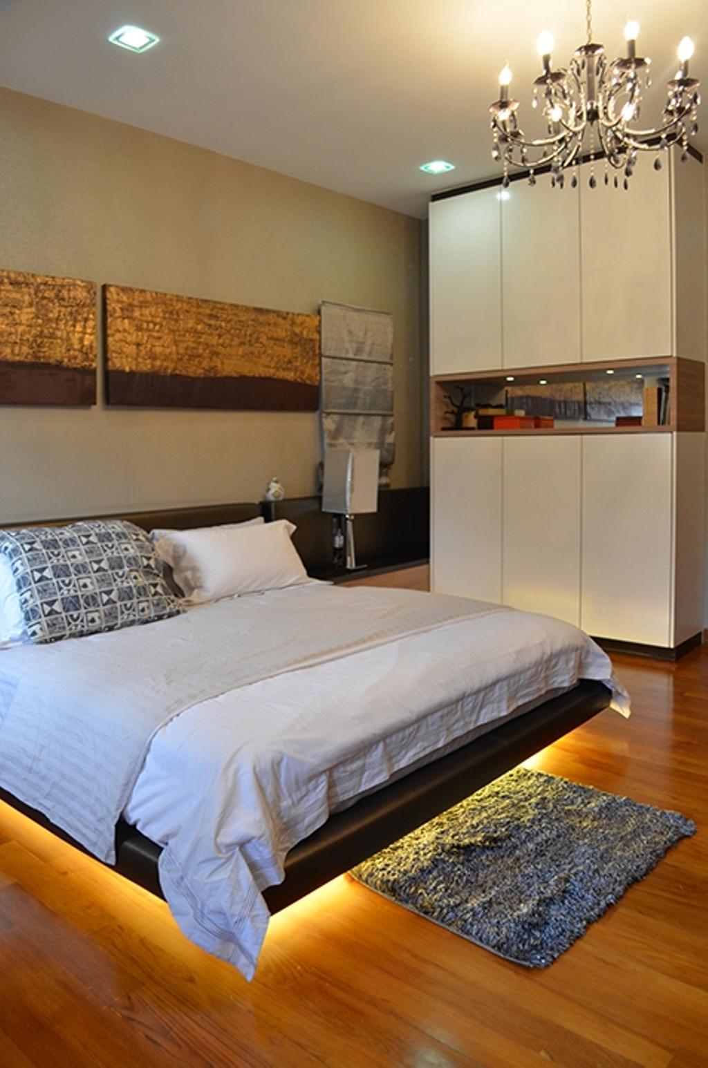 Traditional, Landed, Bedroom, Bandar Utama 4, Interior Designer, The Arch, Bed, Furniture