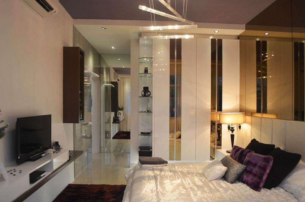 Modern, Condo, Bedroom, Ashton Tower, Interior Designer, The Arch, Couch, Furniture, Indoors, Interior Design, Room