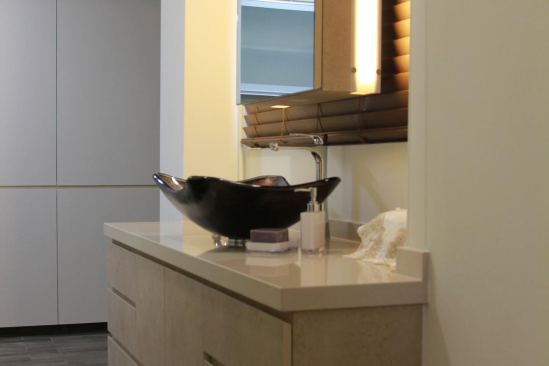 Mei Ling Vista, MET Interior, Traditional, Bathroom, HDB, Frying Pan, Wok