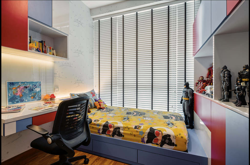 Modern, Condo, Bedroom, Sennett Residence, Interior Designer, Zenith Arc, HDB, Building, Housing, Indoors