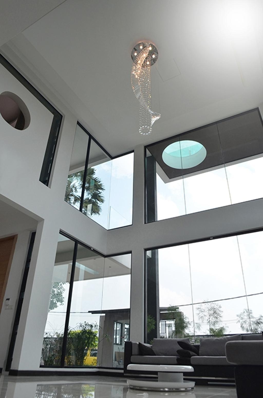 Modern, Landed, Living Room, SS1, Interior Designer, The Arch