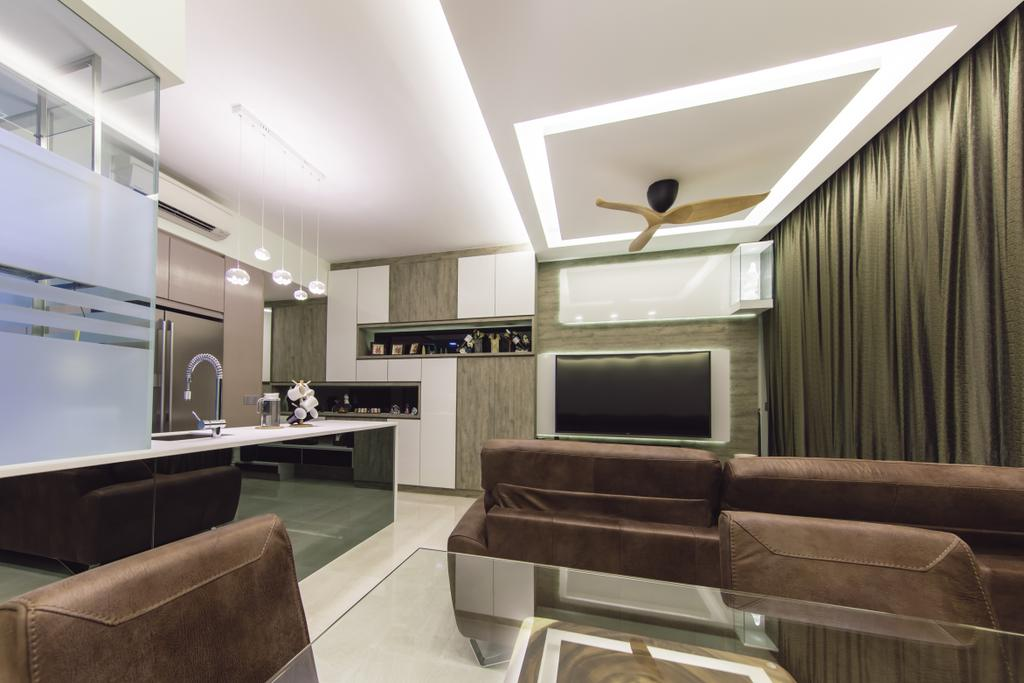 Modern, Condo, Living Room, Euhabitat, Interior Designer, The Wooden Platform