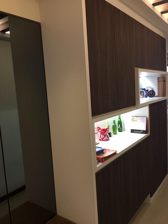 Contemporary, Condo, Living Room, Blue Horizon, Interior Designer, The Wooden Platform